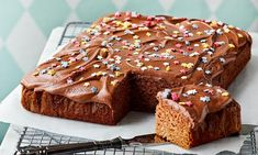 Cinnamon Cake With Coffee Glaze Finnish Recipes, Cinnamon Cake, Cake Bars, Sweet Pastries, Sweet Pie, Cake Toppings, No Bake Desserts, Let Them Eat Cake, Cocktail