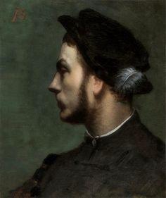 Albert Besnart · Autoritratto a diciotto anni · 1867 · Ubicazione ignota