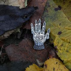 Ninelivesretail — Hand Of Glory Pin
