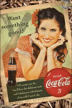 Here's a fun recreation of the late 1940s/50s style Coca Cola advertisements with Crystal. As with the WW2 poster recreations, this is heavily researched in terms of correct fonts, wordage, and colors. The only thing 'modern' is the Coca Cola bottle, which is a current style tall Mexican Coca Cola. The 1940s Coke bottles don't photograph very well, so these are often used as substitutes.