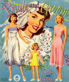 1950s Paper Dolls