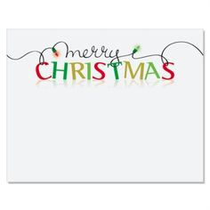 Merry Christmas Holiday Postcards