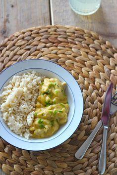 Lekker en Snel: Rijst met kip in een mosterd-roomsaus - Lekker en Simpel