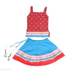 Checkout this latest Lehanga Cholis Product Name: *Cute Kid's Girl's Lehanga Cholis* Sizes:  0-6 Months, 3-6 Months, 6-9 Months, 6-12 Months, 9-12 Months, 12-18 Months, 18-24 Months, 1-2 Years, 2-3 Years, 3-4 Years, 4-5 Years Easy Returns Available In Case Of Any Issue   Catalog Rating: ★4 (387)  Catalog Name: Adorable Pure Rayon Kid's Girl's Lehanga Choli Sets Vol 1 CatalogID_616055 C61-SC1137 Code: 223-4297713-567