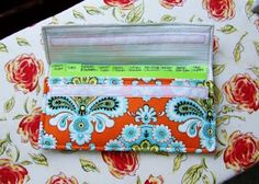 diy coupon organizer... mine's a little different but pretty similar! I love it... I just need to make dividers for it.