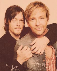 Flandus (Sean Patrick Flanery and Norman Reedus) - These two... ♥