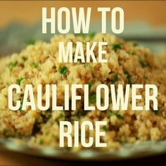 How To Make Cauliflower Rice (Video!) — Video Tips from the Kitchn