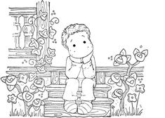 Colouring Pages, Adult Coloring Pages, Coloring Sheets, Coloring Books, Magnolia Pictures, Blue Nose Friends, Clip Art, Digital Stamps, Illustration