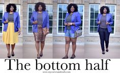 My Curves & Curls™ | A Canadian Plus Size Fashion blog: Closet remix