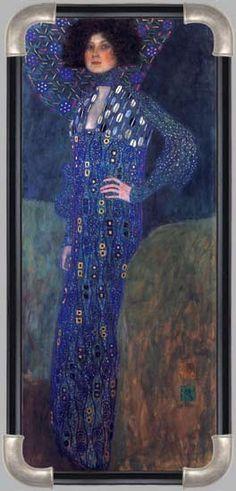 Gustav Klimt, Portrait of Emilie Floege