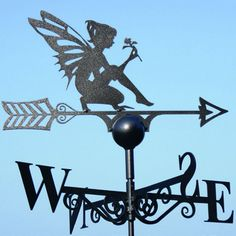 Fairy Weathervane  http://www.theorchardhomeandgifts.com/product.php?xProd=1676