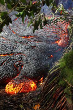 Hawaii Lava Flow 2014