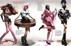 #inspiration #editorial #avantgarde #jourdandunn #lilydonaldson #vogue