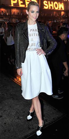 Look of the Day - July 17, 2014 - Jaime King in Barbara Bui from #InStyle
