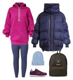 """Холодный сет"" by irina-o on Polyvore featuring мода, LC Lauren Conrad, New Balance, Moncler, Napapijri, STELLA McCARTNEY и plus size clothing"