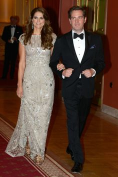 Princess Madeleine brings her A-game in Elie Saab
