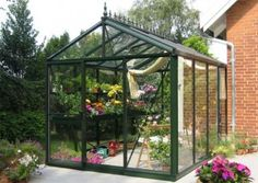 x 10 ft. Greenhouse VI 23 at The Home Depot - Mobile Best Greenhouse, Backyard Greenhouse, Greenhouse Plans, Homemade Greenhouse, Large Greenhouse, Backyard Farming, Hydroponic Growing, Hydroponic Gardening, Hydroponics