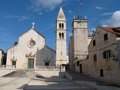 St Peters in Supetar, on the Island of Brac #Croatia #YachtWorldCharters