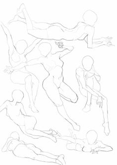 Anatomy Sketches, Anatomy Drawing, Drawing Sketches, Art Drawings, Body Reference Drawing, Anime Poses Reference, Poses References, Art Poses, Drawing Base