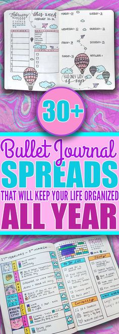 If you want to keep your life organized all year long then you should really check out these tips and ideas for your bullet journal. Ive found the best list of weekly logs budget trackers and more bullet journal ideas to keep my life organized all yea Bullet Journal Easy, Bullet Journal How To Start A, Bullet Journal Spread, Bullet Journal Layout, Journal Inspiration, Planner Stickers, Weekly Log, Back To University, Doodle Drawing
