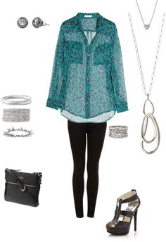 print and silver Stella & Dot, classics with an edge
