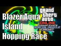 GTAV Online Stunt Race (Blazer Aqua -Island Hopping Race)