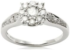 """Kobelii """"Je T'aime"""" Round Diamond Engagement Ring (3/4 cttw, H-I Color, I1-I2 Clarity) Kobelli. $1940.00. Made in USA. Kobelli is a world renowned company with precise and unique designs that embodies the personality in each woman. Kobelli has been around the jewelry industry for over 30 years and is currently on its third generation of being a family-owned business. Kobelli creations range from the classic beauty of a three-stone ring to the most intricate one-of-kind de..."""