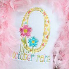 Flower Garden Alpha - Planet Applique Inc Embroidery Monogram, Machine Embroidery Applique, Embroidery Fonts, Easter Flowers, Spring Flowers, Janome, Applique Designs, Embroidery Designs, Custom Birthday Shirts