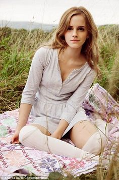 Emma Watson for People Tree Fashion Line