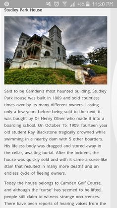 http://www.xploresydney.com/top-5-most-haunted-places-in-sydney/