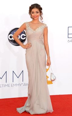 Ethereal from Sarah Hyland's Best Looks  In Marchesa
