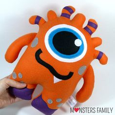 Isn't this Monster Plush Toy a perfect Christmas gift? Check the store for more: etsy.me/2evZXMf  MonstersFamily (@LoveMonsterLand) | Twitter