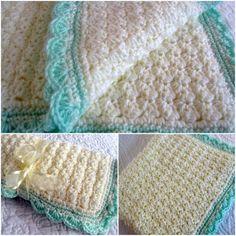 Crochet Shell Edge Baby Blanket Pattern