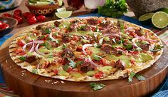 Simple ingredients help you make this Mexican-style pizza flavorful and fast! Herdez Guacamole Salsa