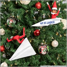 11 Epic Scout Elf Return Ideas Elf on the Shelf Ideas & Ideas for Scout Elves & Welcome Back Ideas for Elves & Easy Elf Ideas The post 11 Epic Scout Elf Return Ideas & Elf on the Shelf Ideas appeared first on Elf on the shelf ideas . Christmas Activities, Christmas Traditions, Christmas Elf, Christmas Crafts, Christmas Ideas For Kids, Elf Christmas Decorations, Christmas Calendar, Disney Christmas, Christmas Is Coming