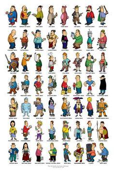 Décrivez ces personnages | La bande dessinée FLE | Scoop.it