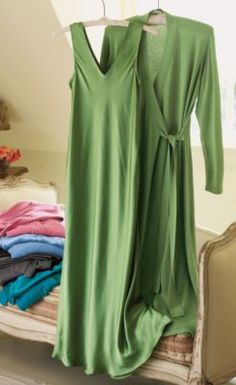 Silk Gown from Soft Surroundings