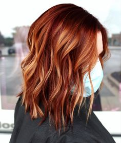 Change Hair Color, Hair Color And Cut, Hair Colour, Copper Hair, Beauty Skin, Redheads, Red Hair, Hair Inspiration, Curly Hair Styles