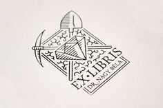Ex Libris for my grandfather on Behance