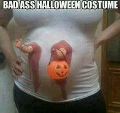 Bahaahahaha how funny would this be for some trick or treater's at your door?
