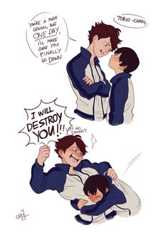 I giggle when I think about smol OiKage and it gets louder