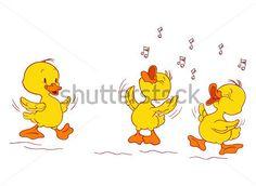 patos bebes tiernos para colorear - Buscar con Google                                                                                                                                                      Más