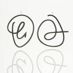 """$226.00 Marcia Meyers: Scribbles II, Earrings in oxidized sterling silver. Approx 1 3/16 x 1 3/16""""."""