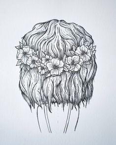Botanical Art, Line Drawing, Modern Art, Paradise, Photo And Video, Wall Art, Drawings, Videos, Artwork