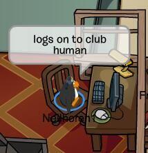 more club penguin club human