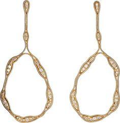 Fernando Jorge Fluid Diamonds Trapeze Earrings at Barneys New York