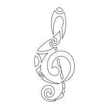 Bildergebnis für violinschlüssel zeichnung