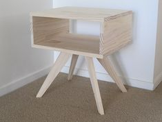 Bedside Table / Side Table - Modern Retro, for the spare room