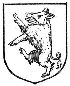 boar heraldry example