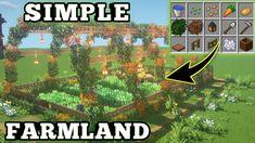 Minecraft Garden, Minecraft House Plans, Minecraft Farm, Minecraft Cottage, Minecraft House Tutorials, Cute Minecraft Houses, Minecraft House Designs, Minecraft Survival, Minecraft Construction